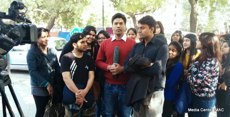 Live @ India TV - www mediacenterimac com