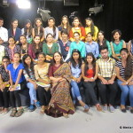 IMAC Students with Amrita Rai at Rajya Sabha