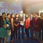 Media Center IMAC students @ NDTV with Rajiv Makhni