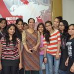IMAC Students with Radio City RJ Diva I mediacenterimac.com