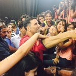Media Center IMAC Students with Akshay Kumar