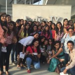Media Center IMAC Students @ india TV With Akshay Kumar, www.mediacenterimac.com