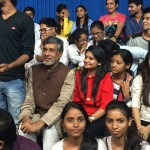 Media Center IMAC Students With kailash satyarthi at Zee News