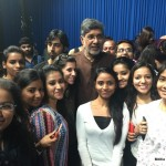 Media Center IMAC Students With kailash satyarthi at Zee News