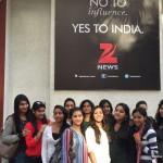 Media Center IMAC Students at Zee News
