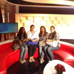 Media Center IMAC students @ Zee News Studio