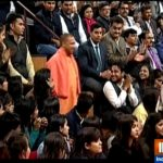 IMAC Students with UP CM Yogi Adityanath @ India TV