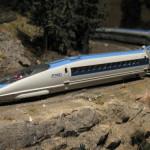 Himachal student makes bullet train model