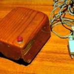 The first computer mouse was made out of wood
